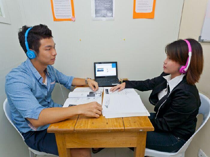Thuận lợi và khó khăn khi bắt đầu học tiếng Anh 1 kèm 1